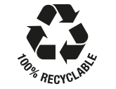 100 recyclable